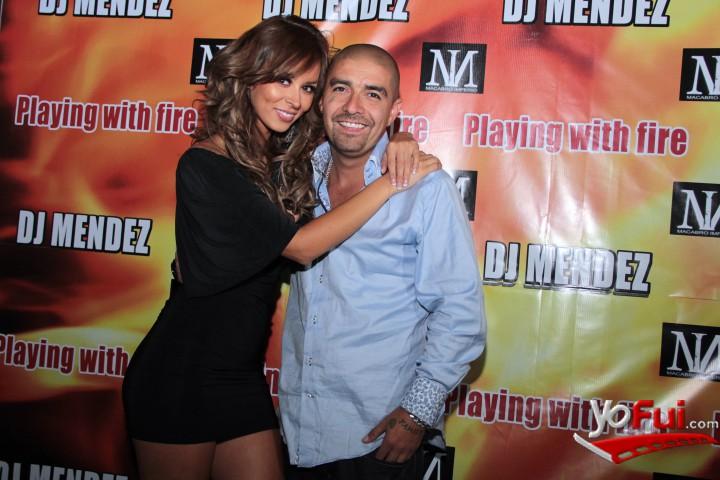 Jhendelyn Nuñez, DJ Mendez en Lanzamiento nuevo video de Dj Mendez