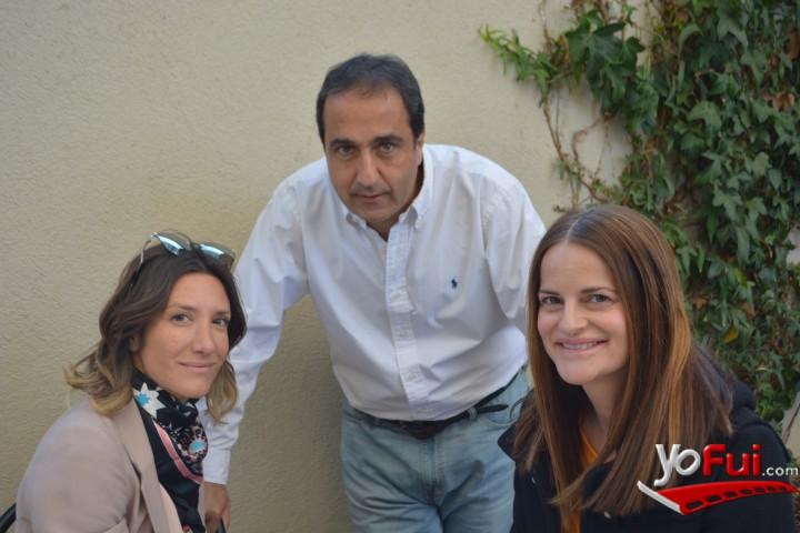Tatiana Fernández, Pablo Zalaquett, Paula Edwards en Lanzamiento Alpargatas Aedo, Restaurant Osadía
