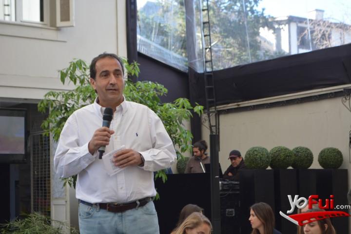 Pablo Zalaquett en Lanzamiento Alpargatas Aedo, Restaurant Osadía