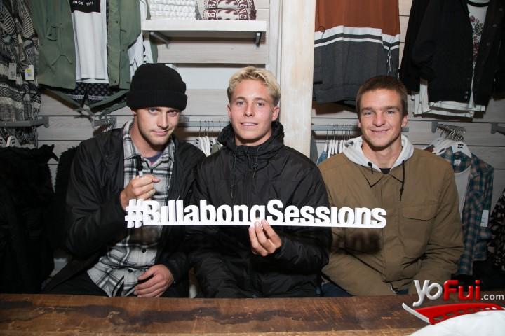 YoFui.com  Billabong Sessions con el team internacional de surfistas para Adventure División, Tienda Billabong  (7569)