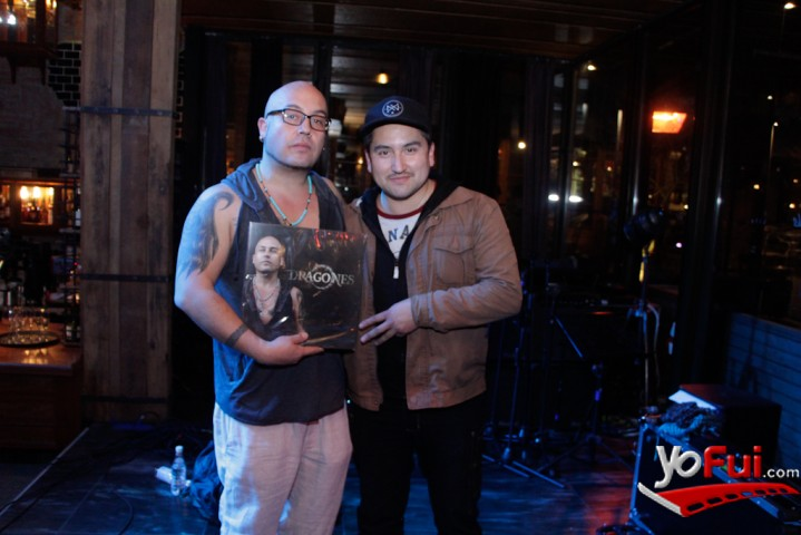 "YoFui.com GO lanzó su esperado cuarto álbum ""Dragones"", Backstage  (7586)"