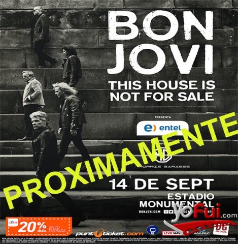 YoFui.com This House Is Not for Sale Tour - Próximo 14 Septiembre 2017, Estadio Monumental  (7654)