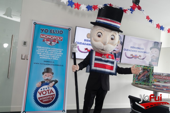 YoFui.com Presentación de VotaMonopolyChile.cl , Fonda del Sr Monopoly / Hasbro   (7673)