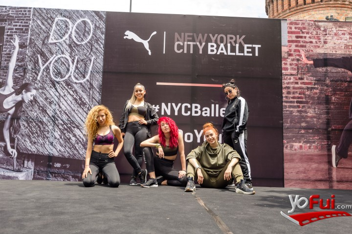 YoFui.com PUMA trajo a las exponentes del Ballet de NYC a Chile, Plaza Caupolicán  (7800)