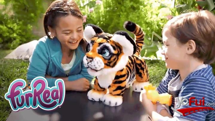 YoFui.com Rayler el tigre Juguetón.  El regalo más tierno de esta Navidad, Hasbro  (7824)