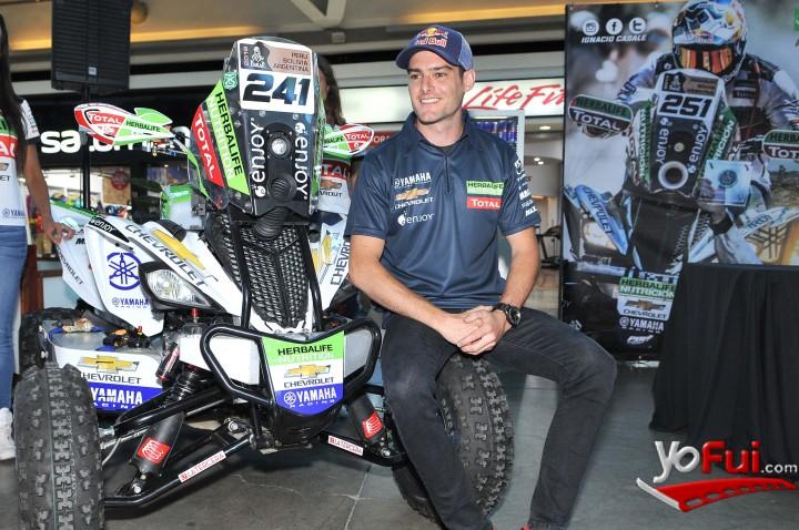 YoFui.com Ignacio Casale presenta su nueva moto para el Rally Dakar 2018 , Mall Sport  (7896)
